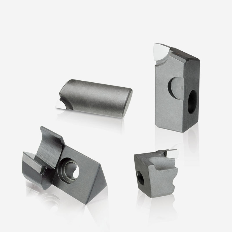 PCD-CBN Brazed Cartridges